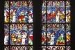 Vitral da Catedral de Notre-Dame de Strassbourg<br />Foto Victor Hugo Mori