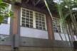 Escola Municipal Roma, detalhe do painel de azulejo (Regina Bolonha), Copacabana, Rio de Janeiro, 1960-1964<br />Foto Marcia Poppe, 2004