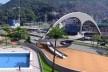 Passarela de acesso à Rocinha<br />Imagem divulgação / M&T Mayerhofer  [Plano Diretor Sócio-Espacial da Rocinha]