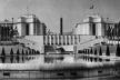 Exposição Internacional de Paris em 1937 (Diretor de Arquitetura: Jacques Greber). Vista geral desde o Pavilhão da Suiça