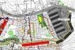 Plano de Ação da Área Exemplar, detalhe<br />Imagem divulgação / M&T Mayerhofer  [Plano Diretor Sócio-Espacial da Rocinha]
