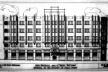 Figura 08 - Elevação para a rua César Bierrenbach do anteprojeto para o edifício Sant'Anna<br />Foto Caio Ferreira  [Arquivo Pessoal da H. N. Segurado]