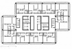 Torre Barcelona, planta de habitação coletiva, 2001. Helio Pinon, Laboratorio de Arquitectura, ETSB UPC
