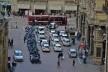 Centro Histórico de Bolonha, veículos e pedestres em transito<br />Foto Fabio Jose Martins de Lima