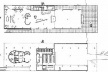 Iate Clube, Pampulha, 1942, Oscar Niemeyer. Plantas superior e térreo