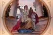 Decoração de Rodolpho Amoêdo para a Sala de Sessões do Supremo Tribunal Federal, (hoje Centro Cultural da Justiça Federal), Rio de Janeiro, 1909 <br />Foto Leandro Brito de Mattos