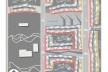 Diagrama de insolação.Concurso Habitação para Todos. CDHU. Edifícios de 6/7 pavimentos - 1º Lugar.<br />Autores do projeto  [equipe vencedora]