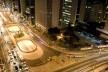 Vista do Edifício Anchieta para a Avenida Paulista, esquina com rua da Consolação<br />Foto Ana Mello