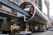 Estação de monorail<br />Foto Gabriela Celani
