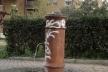 """Um dos muitos """"nasoni"""" (""""narigões"""") espalhados por toda cidade, jorrando água gelada ininterruptamente<br />Foto Claudia dos Reis e Cunha"""