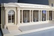 Davis Brody Bond, architects and planners for the project Model of the Portico Gallery for Decorative Arts and Sculpture at The Frick Collection, south façade<br />Divulgation