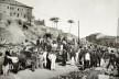 Demolição do Morro do Castelo para a construção da avenida Central, Rio de Janeiro, 1904<br />Foto Torres  [Instituto Moreira Salles]