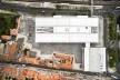 Museu Nacional dos Coches, vista aérea do conjunto, Lisboa. Arquiteto Paulo Mendes da Rocha, MMBB arquitetos e Bak Gordon arquitetos<br />Foto Fernando Guerra  [FG+SG Architectural Photography]