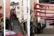 Empena Cega, 2001. Adesivo vinílico sobre empenas, 3,50x1,5x1,50 m. Rio-Trajetorias. Intervenção urbana realizada no bairro Jardim Botânico do Rio de Janeiro.<br />Foto Ivana Monteiro  [http://paginas.terra.com.br/arte/anaholck]