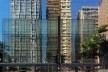 Detalhe da fachada de Shopping Center na Avenida Paulista, São Paulo<br />Foto Abilio Guerra
