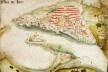 """""""Tavoa de Dio"""", ilustração existente no Roteiro de Goa a Dio (1538-39) de D. João de Castro [Biblioteca Geral da Universidade de Coimbra]"""