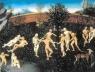 Figuração do Jardim do Éden, intimamente ligada ao mito da Idade do Ouro. Pintura de Lucas Cranach, o Velho, circa 1530 [JEAN, Georges. Voyages en utopie. Paris, Gallimard, 1994, p. 20-21]