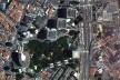 Centro Empresarial Itaú, implantação, metrô Conceição. Itauplan e Aflalo & Gasperini [Google Maps]