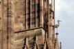 Escultura de cegonha na fachada da Catedral de Notre-Dame de Strassbourg<br />Foto Victor Hugo Mori
