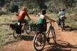 """Fotograma do vídeo """"Bicicarreto - transportando comida orgânica produzida pelo MST""""<br />Foto George Queiroz"""