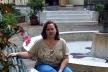 Ana Paula Spolon no Jardim da FAU Maranhão