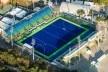 Centro Olímpico de Hóquei sobre Grama, Parque Olímpico de Deodoro, Rio de Janeiro, RJ, Escritório Vigliecca & Associados<br />Foto Renato Sette Camara