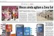 Jornal O Globo, trecho de página, 13 de março de 2011
