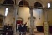 Tourist in the interior of Basilica<br />Foto/photo Fabio Lima
