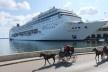 Passeio de charrete no Porto de Havana, Habana Vieja, Cuba<br />Foto Victor Hugo Mori