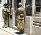 Guardas do mausoléu lembram imagens de livros de história<br />Foto Michel Gorski