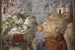 Lenda de São Francisco (São Francisco dando seu manto a um homem pobre), 1297-99<br />Giotto di Bondone  [Lib-art.com]