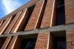 Cootrapar – cooperativa de trabajadores de aceros del paraguay. Detalle diafragma ceramico. Arq. Luis Alberto Elgue y Arq. Cynthia Solis Patri. Villa Hayes, Paraguay. 2007 – 2008.