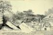 País de Gales, vista do moinho próximo à queda d'água em Aberdyllis, Neath, Glamorganshire, 23 ago 1804<br />William John Burchell  [Collection Museum Africa, Johannesburg]
