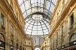 Galeria Vittorio Emanuele, Milão, arquiteto Giuseppe Mengoni<br />Foto Victor Hugo Mori