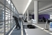Centro de Referência em Empreendedorismo do Sebrae-MG, área de trabalho, 2º lugar. Arquiteto Francisco Spadoni, 2008<br />Desenho escritório