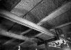 Sigürd Lewerentz, Igreja de São Pedro, Klippan, interior da Igreja, detalhe, estrutura<br />Foto Fabio Galli  [Claes Dymling. Architect Sigurd Lewerentz, vol. I, p.175]