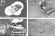 Tipologias habitacionais do IAPI, feitas por Carlos Frederico Ferreira para o IV Congresso Panamericano de Arquitetos [BONDUKI, 1998]