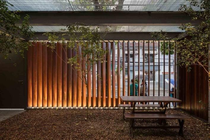 Instituto Brincante, São Paulo SP, 2016, escritório Bernardes Arquitetura<br />Foto Leonardo Finotti