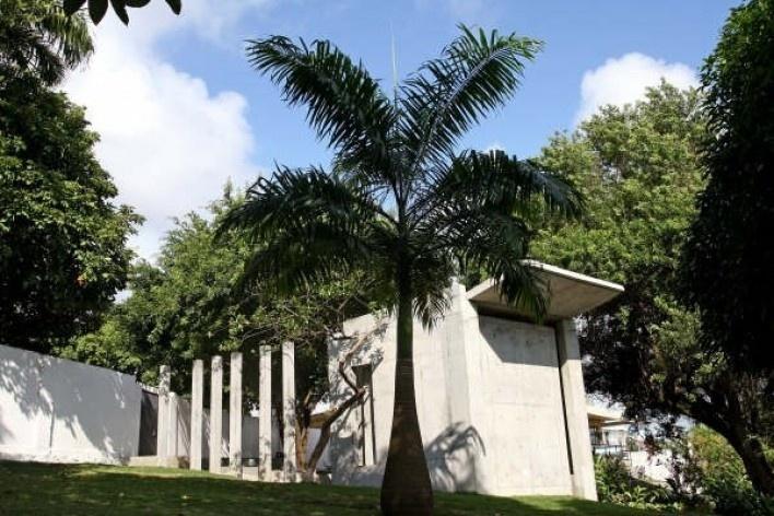 Vista das fachadas sul e leste<br />Foto Léo Azevedo