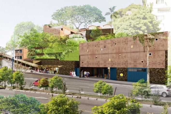 Casa de Òsùmàrè, Casa das Artes, Salvador, 2017. Escritório Brasil Arquitetura<br />Imagem divulgação