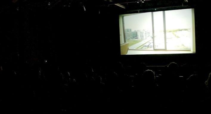 """Plateia assiste """"Meu playground"""", de Kaspar Astrup Schröder. Move Cine Arte 2012, Monte Verde<br />Foto Helena Guerra"""