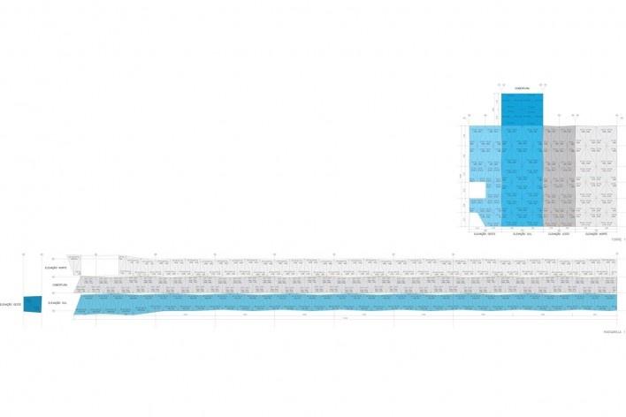 Fechamento torre 1<br />Metro Arquitetos Associados