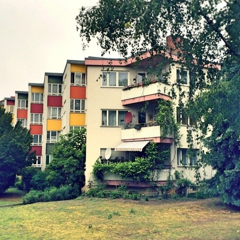 Edifício habitacional em Siemensstadt, Berlim, arquiteto Hans Scharoun<br />Foto Fabiano Borba Vianna, 2016