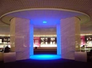 Memorial Getúlio Vargas. Pilar Central do Salão<br />Foto de Kadu Niemeyer