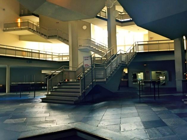 Filarmônica de Berlim, foyer e circulação, arquiteto Hans Scharoun<br />Foto Fabiano Borba Vianna, 2016