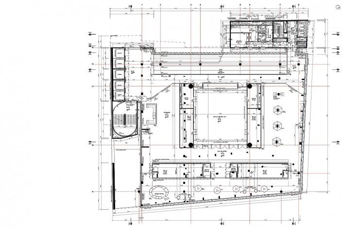 Sesc 24 de Maio, 4º pavimento, sala de leitura, Paulo Mendes da Rocha + MMBB Arquitetos, São Paulo<br />Imagem divulgação