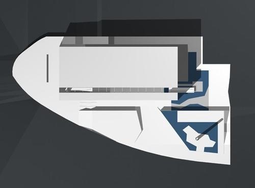 Cobertura e implantação<br />Imagem do autor do projeto