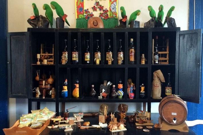 Artefatos, artesanatos e especiarias de Januária<br />Foto Ana Carolina Brugnera / Lucas Bernalli Fernandes Rocha