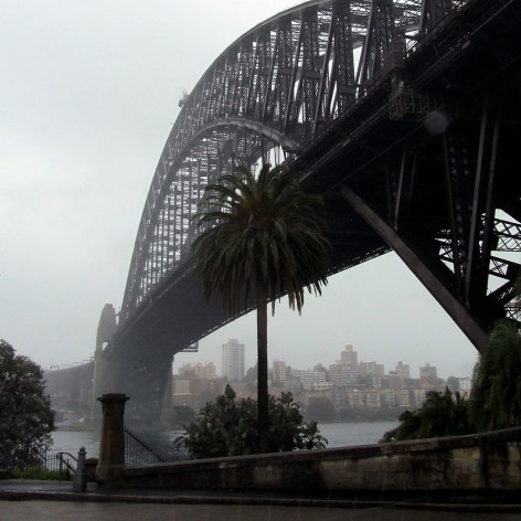 Ponte na Baía de Sidney<br />Foto Gabriela Celani