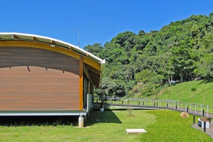 Sede Administrativa do Parque Natural Fazenda do Carmo, acolhimento, São Paulo, Secretaria do Verde e Meio Ambiente – SVMA, 2018<br />Foto divulgação